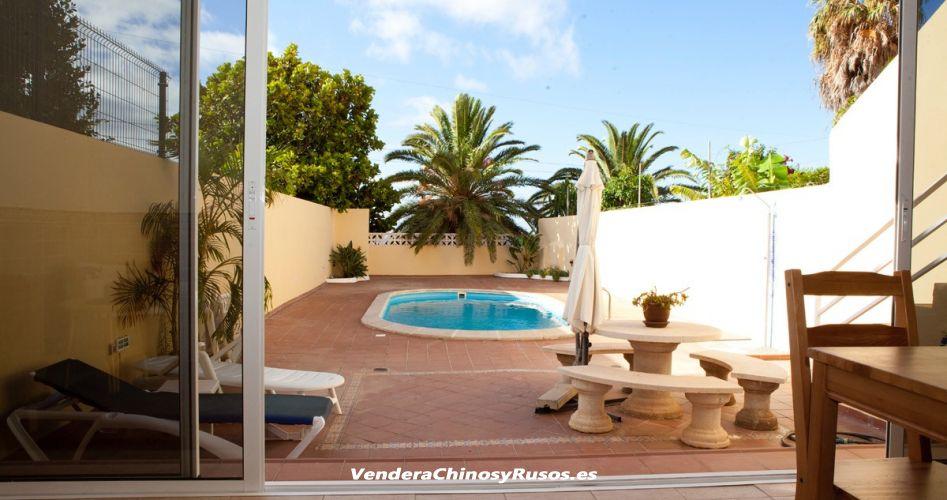 Chalet con piscina privada en Tenerife